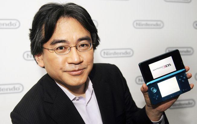 Satoru Iwata: Nintendo President Dies of Cancer Aged 55  Read more: http://www.bellenews.com/2015/07/13/business-news/satoru-iwata-nintendo-president-dies-of-cancer-aged-55/#ixzz3fkyhidLa Follow us: @bellenews on Twitter | bellenewscom on Facebook