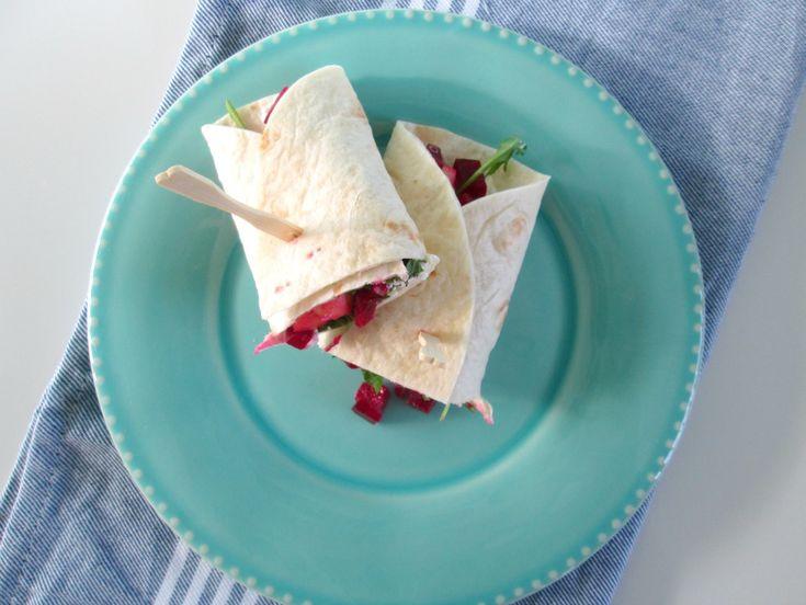 5x Wrap als lunch