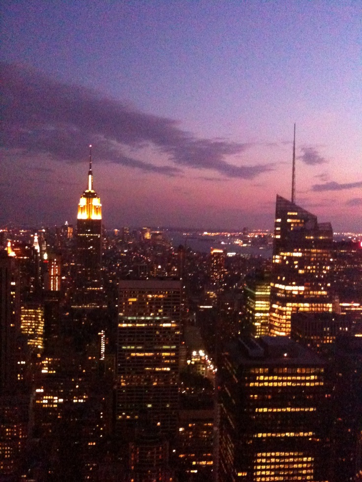 Empire State via the Chrysler Building
