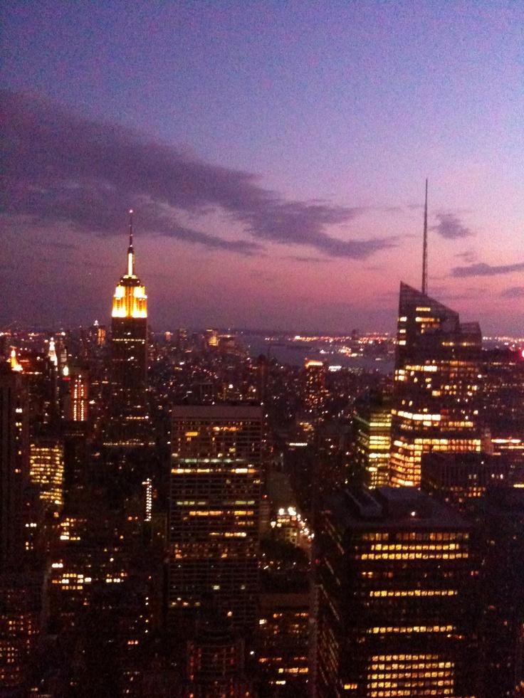 Empire State via the Chrysler Building