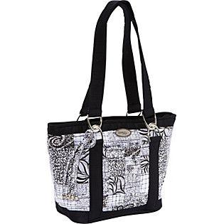 donna sharp handbags   Donna Sharp Leah Tote, Salt & Pepper - Handbags.com