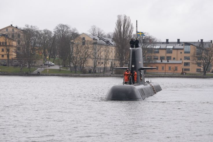 Swedish Navy's Flotilla Visits Stockholm. Swedish Navy's First Submarine Flotilla paid a visit to Stockholm over the weekend of April 17 to 19.  Attack submarine HSwMS Gotland, accompanied by submarine rescue ship HSwMS Belos, arrived at Skeppsbrokajen, Stockholm on Friday and opened their doors to visitors on Saturday.  The vessels took a short break from the 4th Naval Warfare Flotilla's submarine drills being conducted in the Stockholm area.  HSwMS Belos will be open for tours again…
