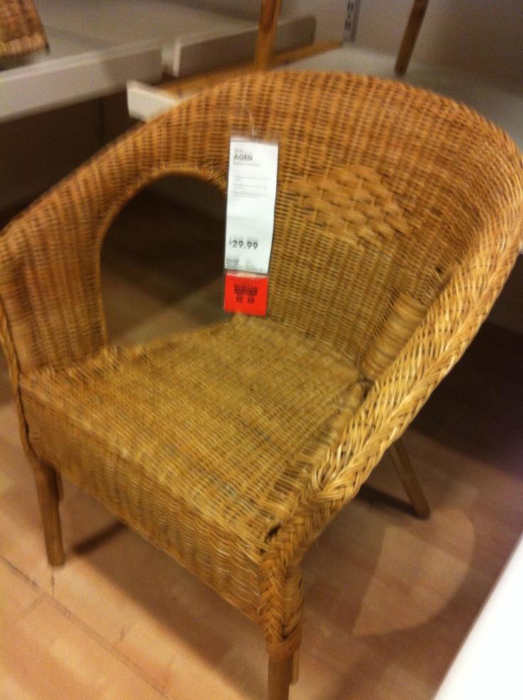 wicker chair ikea farmhouse pinterest. Black Bedroom Furniture Sets. Home Design Ideas