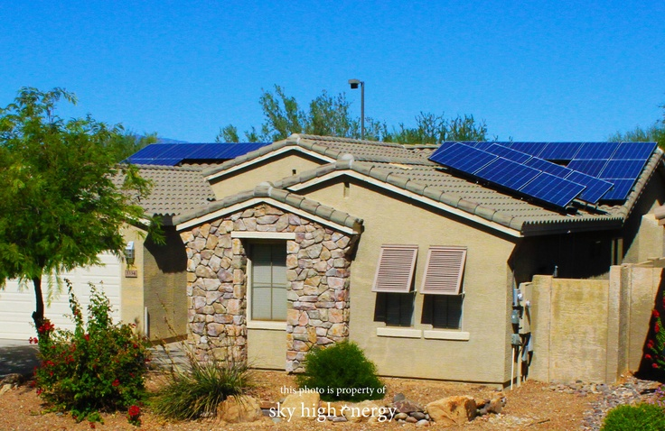 Our installers are staying busy, and have completed another great solar instal. www.skyhighenergy.com