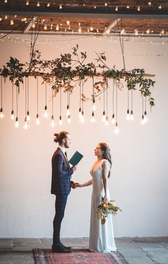 Industrielle schicke Hochzeitsinspirationen bei The Arches – BLOVED Blog   – Ceremony setup & Altar ideas