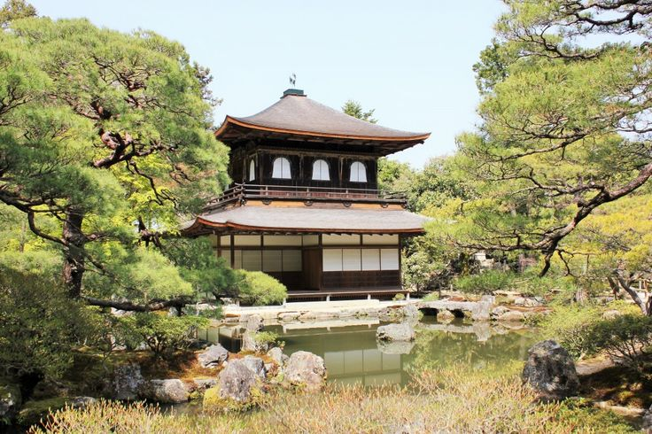 One of the must see Kyoto temples - Ginkaku-ji or the Temple of the Silver Pavilion.
