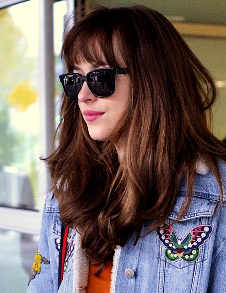 Dakota Johnson arrives in NYC ahead of the MET Gala - 30 April 2016