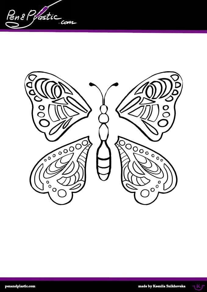 Butterfly Stencil 3d Pen Stencils 3d Pen 3d Drawing Pen