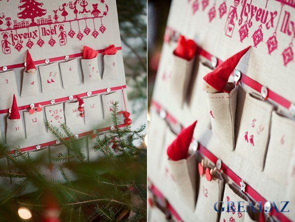 Что такое адвент-календарь и как его сделать?