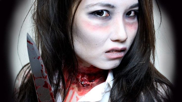 Maquillage halloween zombie sans latex - Maquillage halloween latex ...