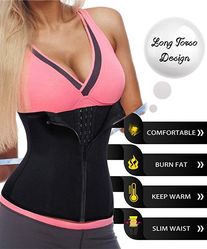 LODAY Waist Trainer for Women Weight Loss Sport Workout Body Shaper Girdle Tummy Cincher Underbust Corset