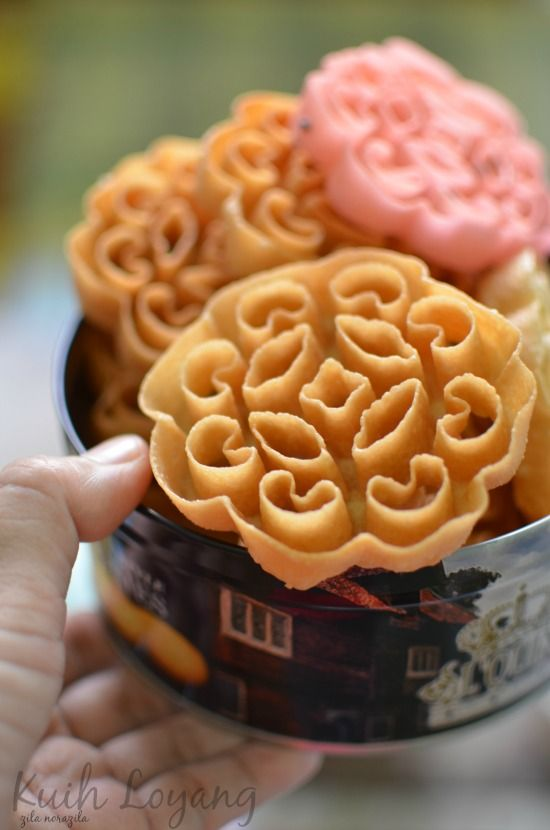 love touch ~ zila forever: kuih loyang