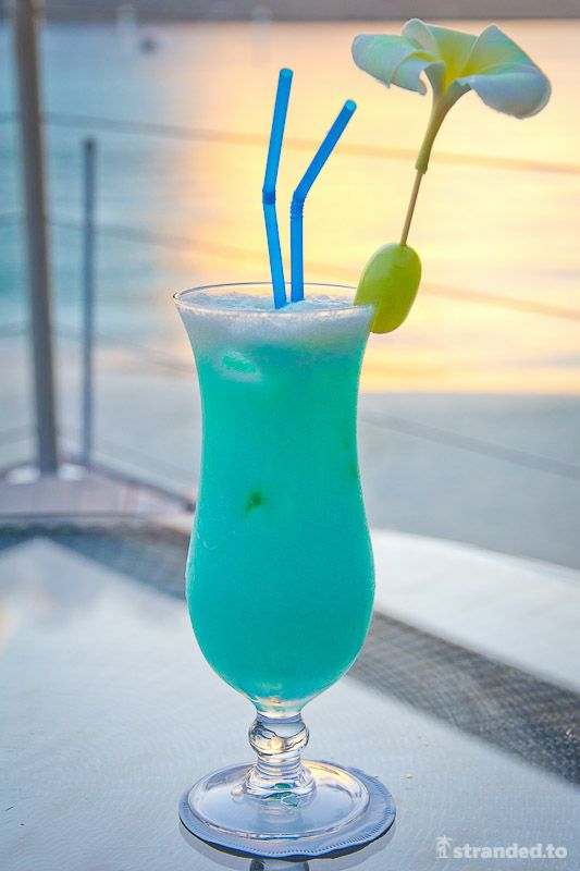 Tropical Cocktail, Le Meridien Hotel, Bora Bora, French ...
