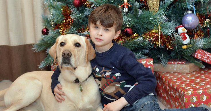 Baylyn Parker-Howard, eight, had never been able to join in the festive fun until now