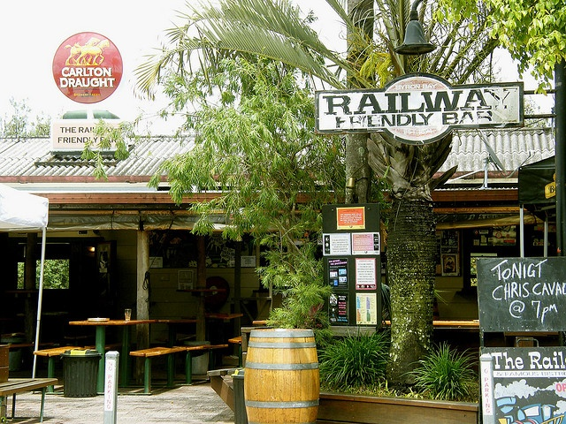 The Railway Bar - Byron Bay - great for an afternoon beer...