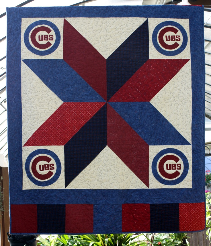 Chicago Cubs Quilt Kit Chicago Quilt And Cubs