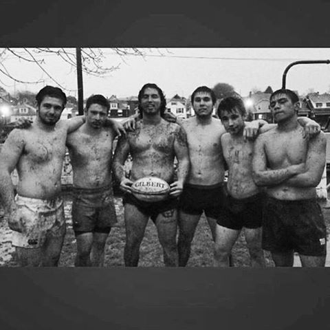 Rugby Team = Family  Tag me in your best mud rugby pics with @RugbyNation & #MudRugby and I will feature the best.  By @jp_larko