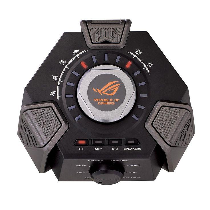 ASUS ROG Republic of Gamers Centurion 7.1 disponible ici.  Plongez au coeur de l'action avec le casque filaire 7.1 ASUS ROG Centurion. Véritable partenaire de jeu avec un son surround et un microphone numérique ajustable, ce casque propose une expérience sonore de qualité pour des parties inoubliables. Contrôlez les paramètres audio depuis la station audio USB ou l'interface Sonic Studio et découvrez les nombreuses qualités du Centurion.