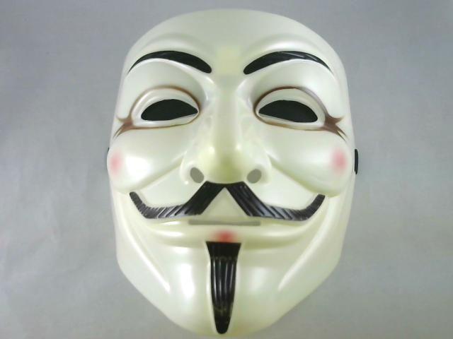 Hat Fancy Dress /& White Gloves Halloween Set Anonymous Guy Fawkes Plot Mask