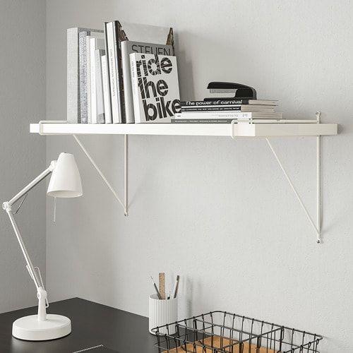 Pershult Konsol Vit 30x30 Cm Ikea Wall Shelves White Wall Shelves Shelves