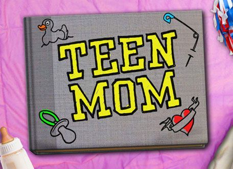 Teen Mom.......I know it is embarassing to admit, but I am addicted to watching this train wreck of a show.