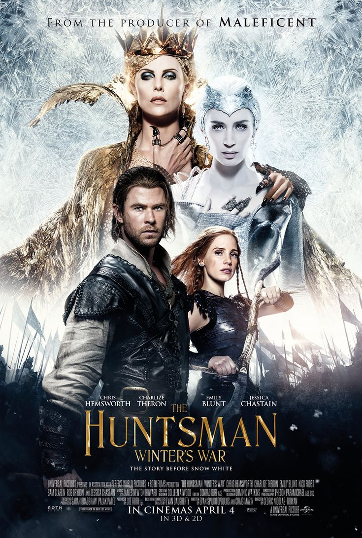 Watch a new trailer for The Huntsman: Winter's War
