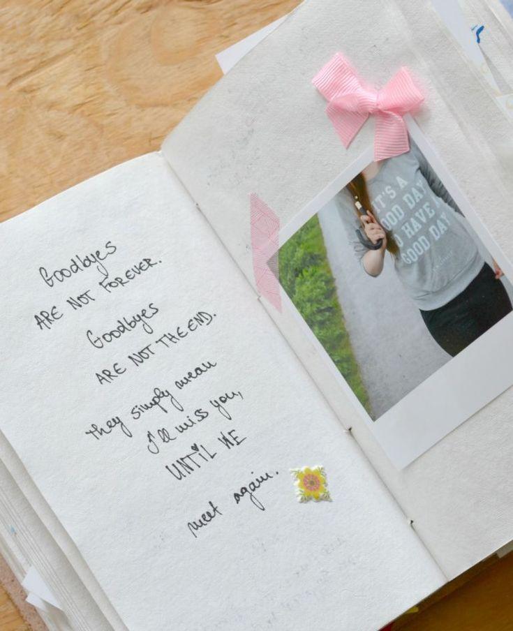 DIY: Wenn die beste Freundin geht – ein Abschiedsbuch*.
