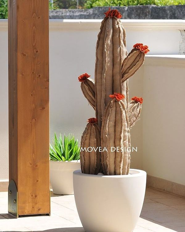Movea design   cactus artificiale,  made in Italy