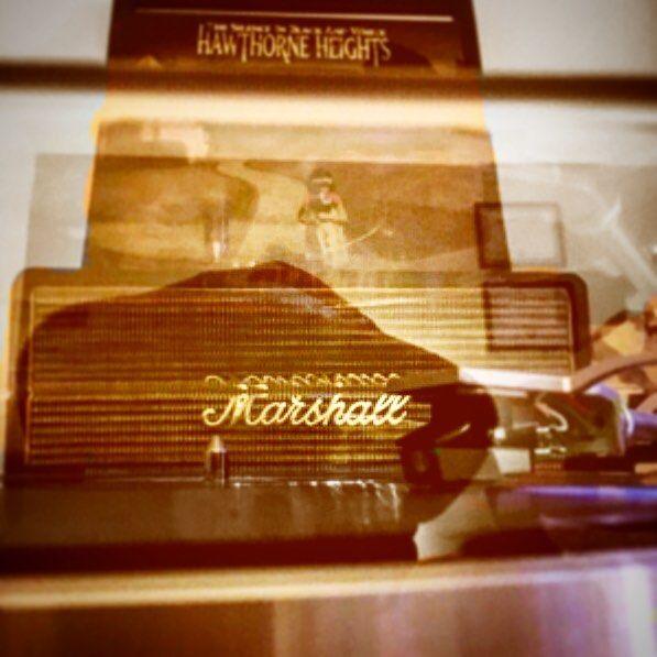""" ...standing outside your window with my radio"" #hawthorneheights #thesilenceinblackandwhite #classic #emo #emokid #90s #90skid #millenials #posthardcore #hardcore #poppunk #punk #gold #marshal #amp #vinyl #turntable #nowspinning #vinylgram #180gram #colorvinyl #coloredvinyl #clearvinyl #collection #record #recordcollection #mirror by vinyl_vaper"