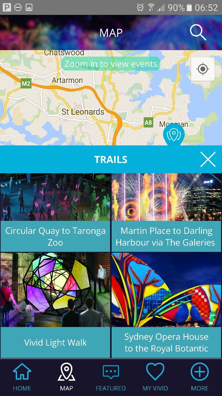 Vivid app for walking/photo trails....bbbbbbbbbbrrrah