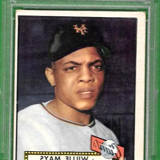 1952 Willie Mays Topps RC Rookie   261 PSA 2.5 Good + New Holder & Flip · 1952 Willie.. ** Scroll down for OVERSIZED scans, front  back *** 1952. This card could have gotten the half point extra, if not even deserving of VG-EX 4. 1952 Topps card  261 of Hall-of-Famer, Willie Mays. PSA graded VG-EX 4. Make Supersized Seem Small.   sports-collectible.bid! #BaseballCards #baseballcard #Baseball #Cards #Sports #Deals #Collectibles #gifts