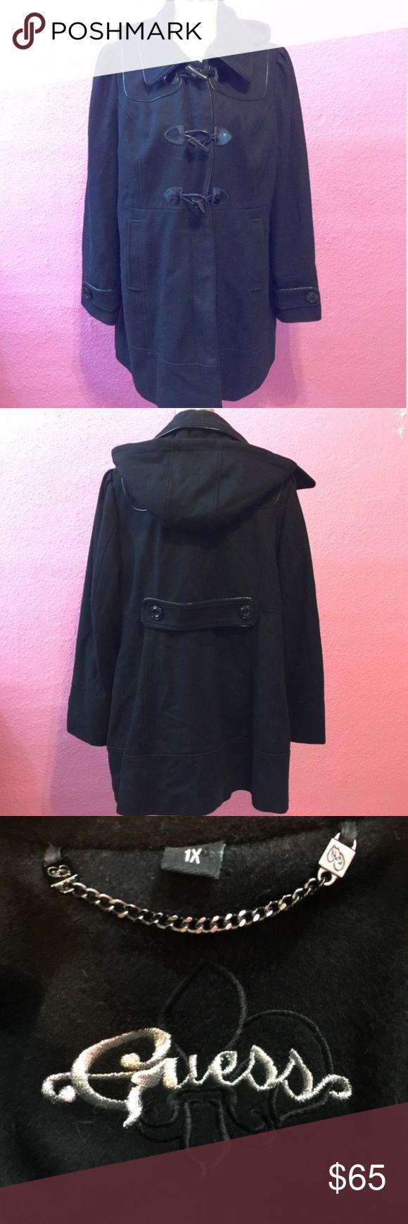 Plus size winter dress coat.  Car coat length Plus size winter dress coat.  Car coat length Guess Jackets & Coats