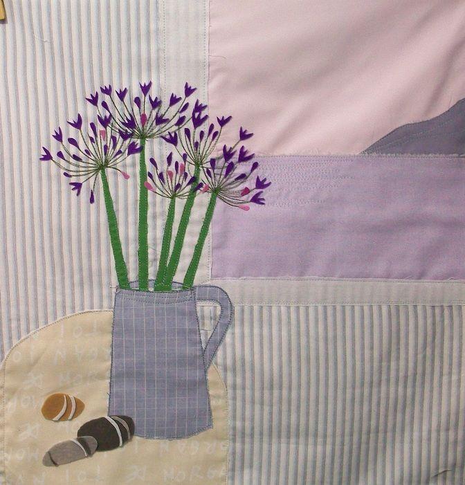 textile art nature morte