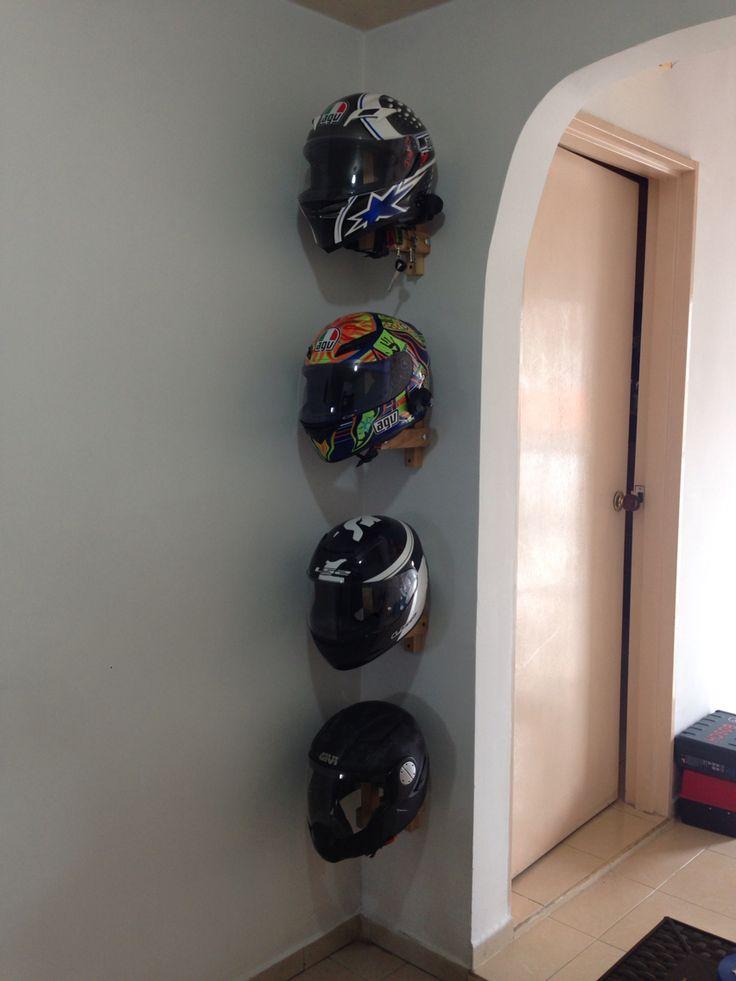 Helmets Storage Finished