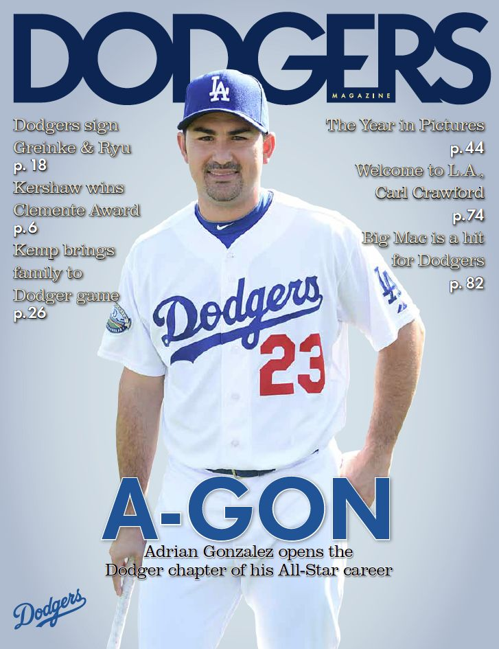 Get your copy of the Offseason Edition of the Dodgers Magazine: http://atmlb.com/ZQejnL