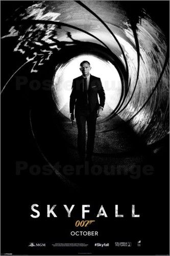 James Bond - Himmelssturz Filmposter für alle 007 Fans