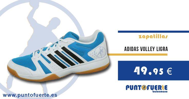Nuevas Adidas Volley Ligra: http://www.puntofuerte.es/es/78-adidas Una zapatilla muy económica y versátil al alcance del jugador de balonmano...y de voley #zapatillas #balonmano #volley #PuntoFuerte