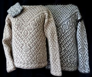image for North African pullover schoolhouse press pattern