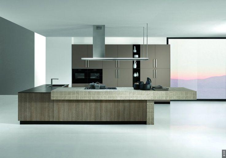 Lumen Isola : une hotte îlot design pour la cuisine signée Falmec - cuisine, électroménager, design, décoration, high tech