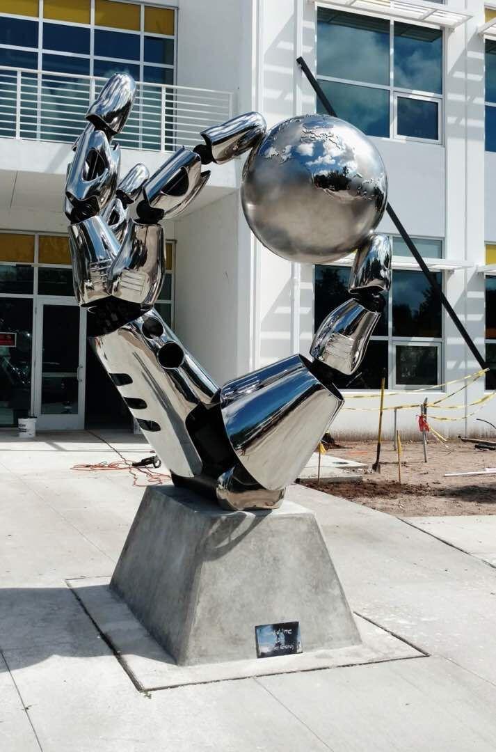 Steel Sculpture
