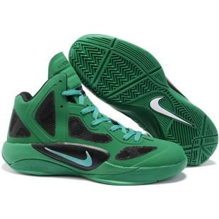 44c04f0d348 ... Nike Zoom Hyperfuse 2011 Lucky GreenBlackWhite Sport ...