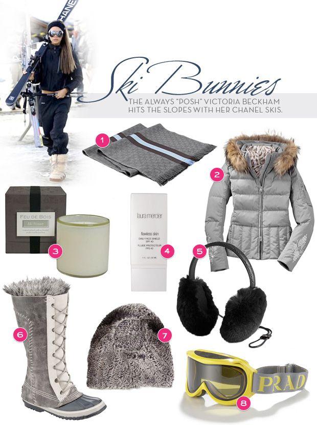 Reign Magazine | Posh ski wear, Chanel Skis.
