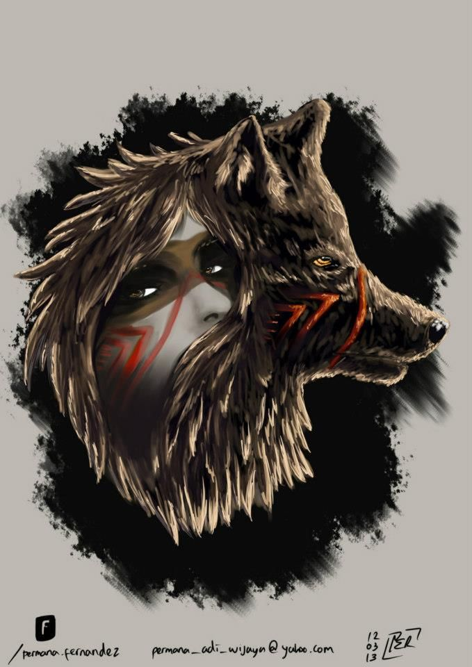 she is a wolf