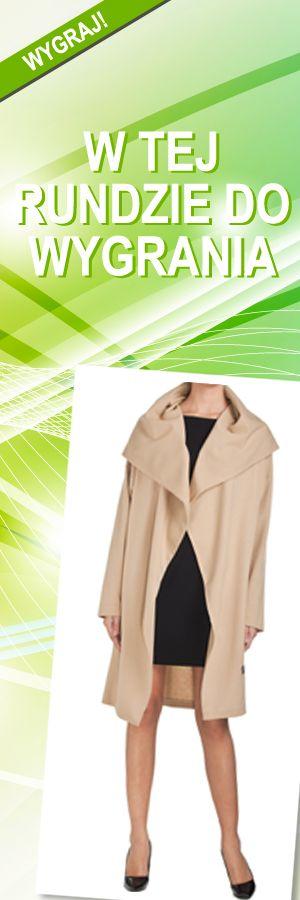 Płaszcz CLR beżowy, rozmiar M; Projektant: NATASHA PAVLUCHENKO ; Wartość: 950 zł; Poczucie piękna: bezcenne. Powyższy materiał nie stanowi oferty handlowej