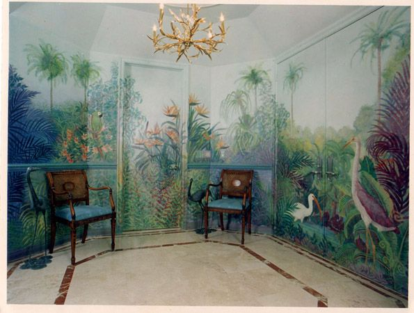 17 best images about wall murals stencils on pinterest for American tropical mural