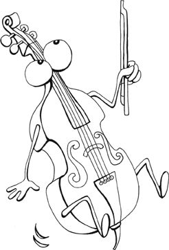 Music coloring pages for kids, printable coloring book pages