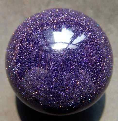 Purple Goldstone Crystal Sphere Stones Crystals Crystals