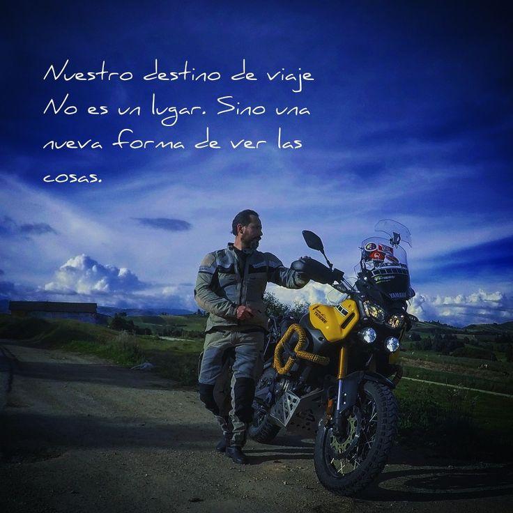 Nuestro destino de viaje no es un lugar.Sino una nueva forma de ver las cosas. #travell #vivecolombia #offroad #motos #ecoturismo #viajeros #motos #yamaha60th #yamaha #supertenerext1200z #supertenere1200z #enduro