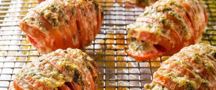 Machen Sie Ihre gefüllten Tomaten zum nächsten Level mit diesem Rezept – ABC News   – Veg Recipes