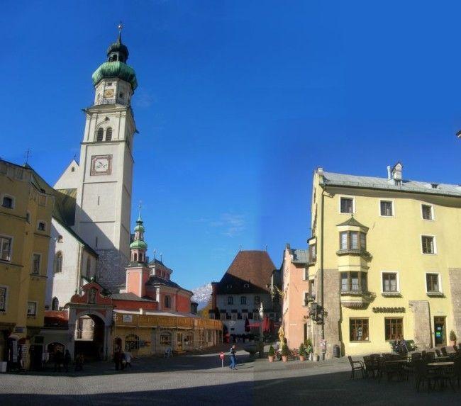 24 leuke minder bekende dorpjes in Europa - Hall in Tirol in Oostenrijk Binnen tien minuten reis je vanuit het centrum van Innsbruck terug naar de Middeleeuwen wanneer je Hall in Tirol bezoekt.